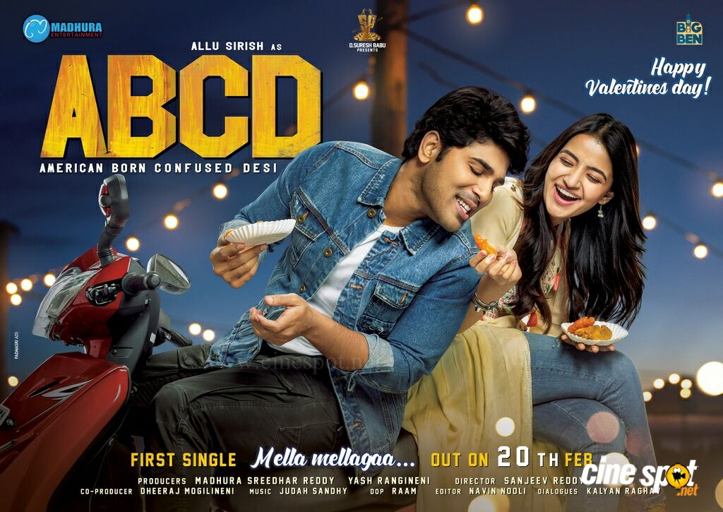 ABCD Movie Valentine's Day Poster
