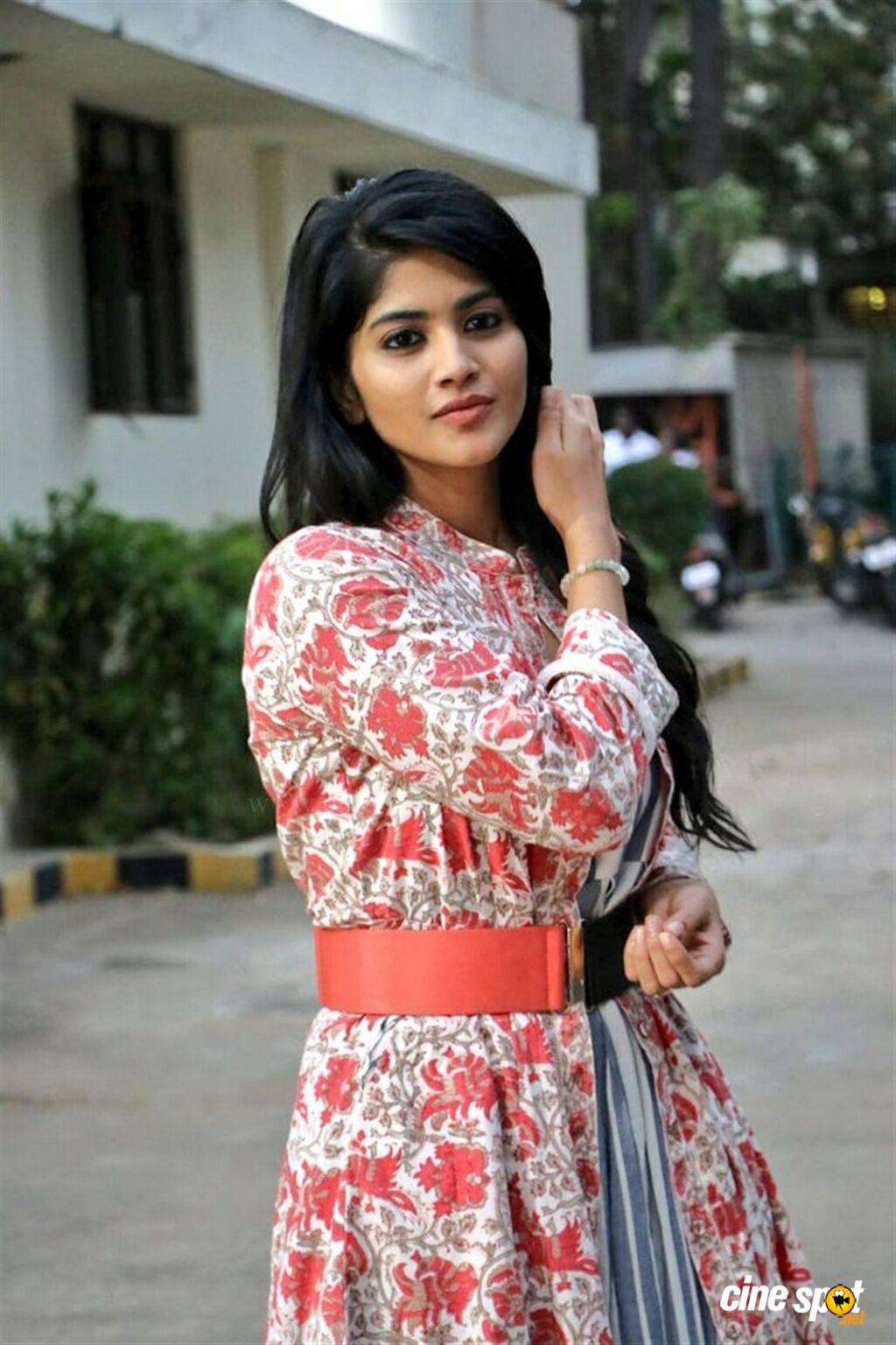 Megha Akash at Boomerang Movie Press Meet (3)