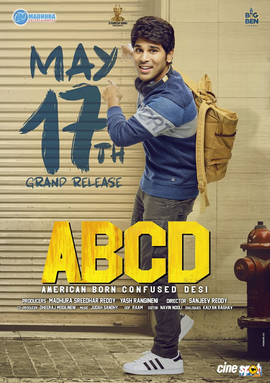 ABCD Movie Date Announcement Poster