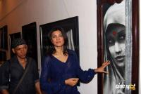 Sushmita Sen Inaugurated Painting Exhibition of Artist Gautam Patole