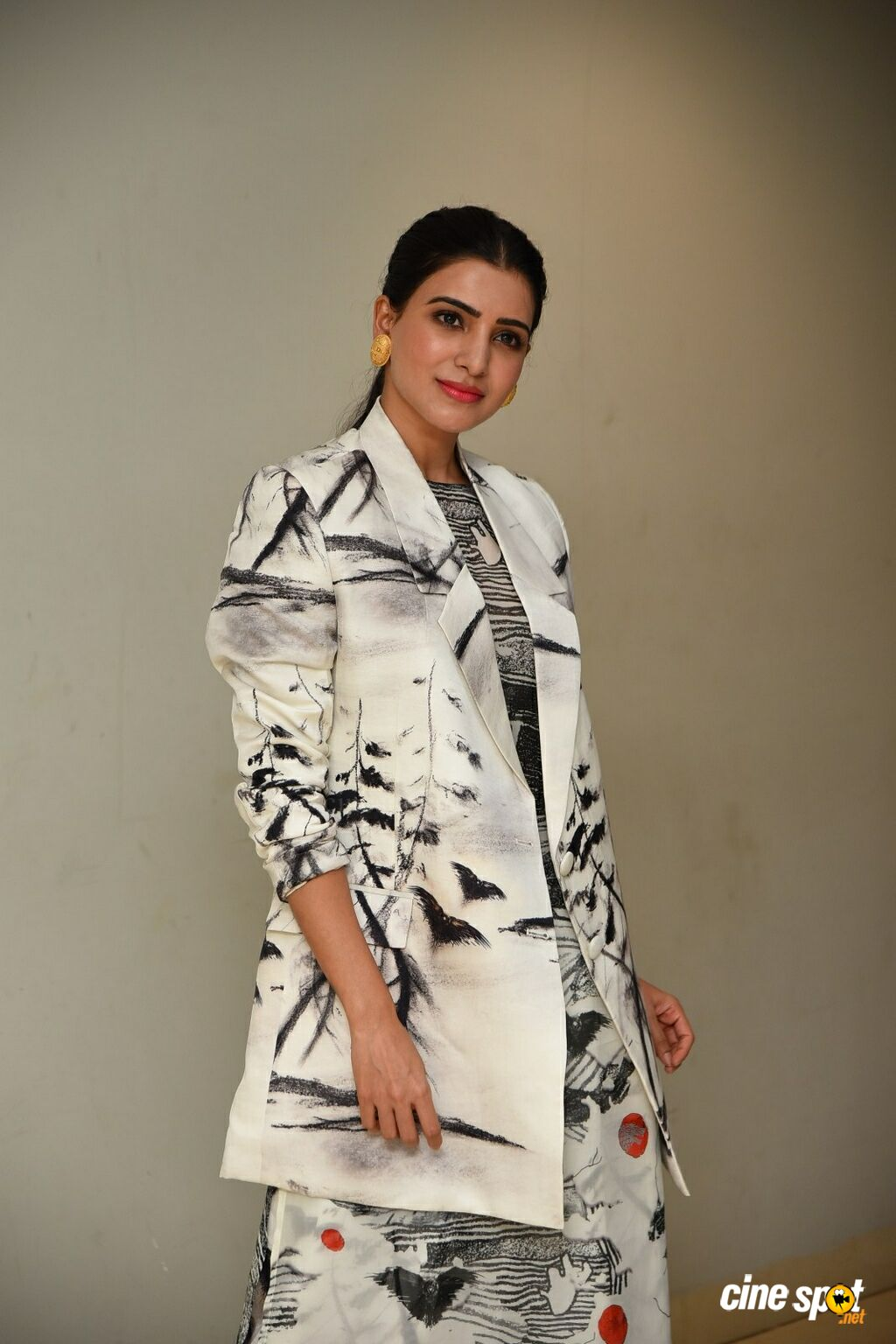 Samantha at Evaru Teaser Launch (7)