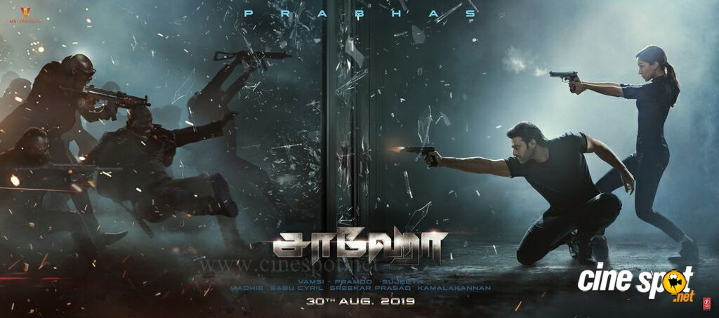 Saaho Film New Posters (3)
