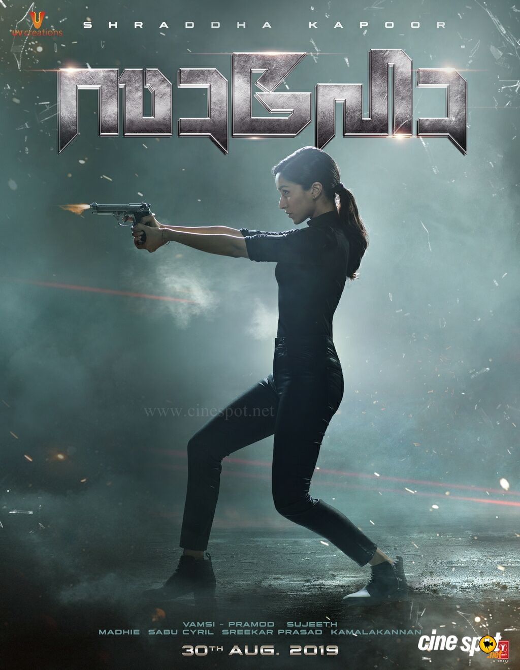 Saaho Movie Shraddha Kapoor Posters (1)