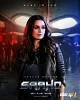 Saaho Evelyn Sharma's Character Poster
