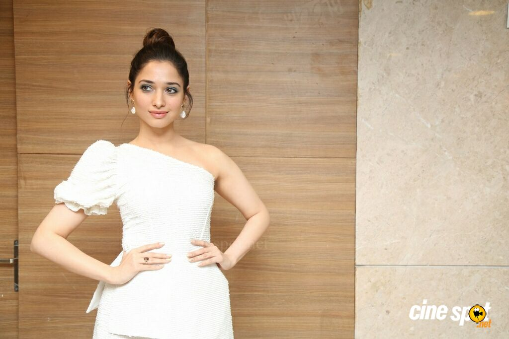 Tamannaah Bhatia at Action Movie Pre Release Event (16)