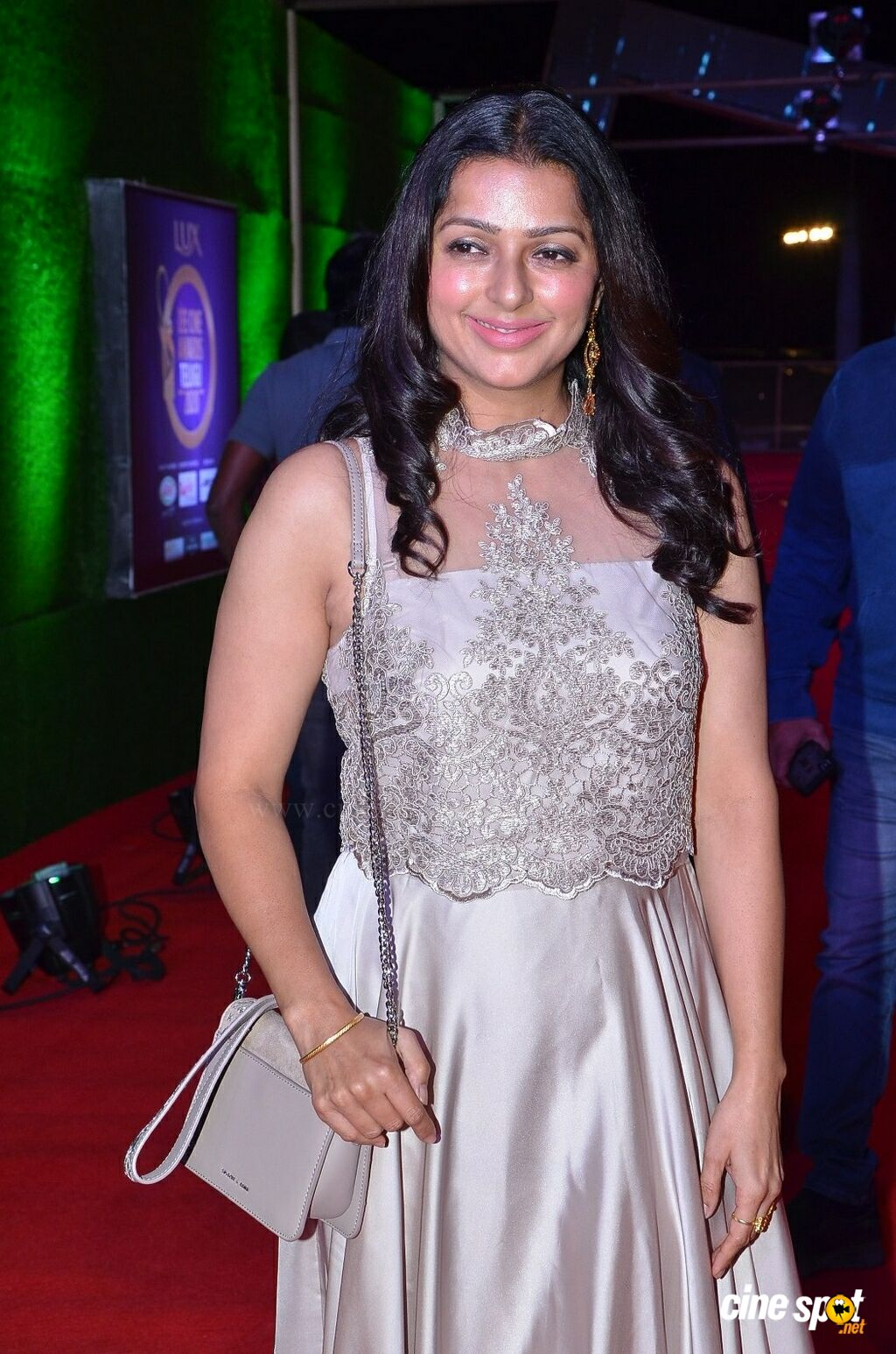 Bhumika Chawla at Zee Telugu Cine Awards 2020 Red Carpet (9)