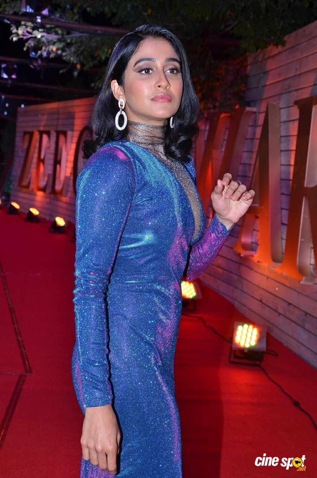 Regina Cassandra at Zee Telugu Cine Awards 2020 Red Carpet (27)