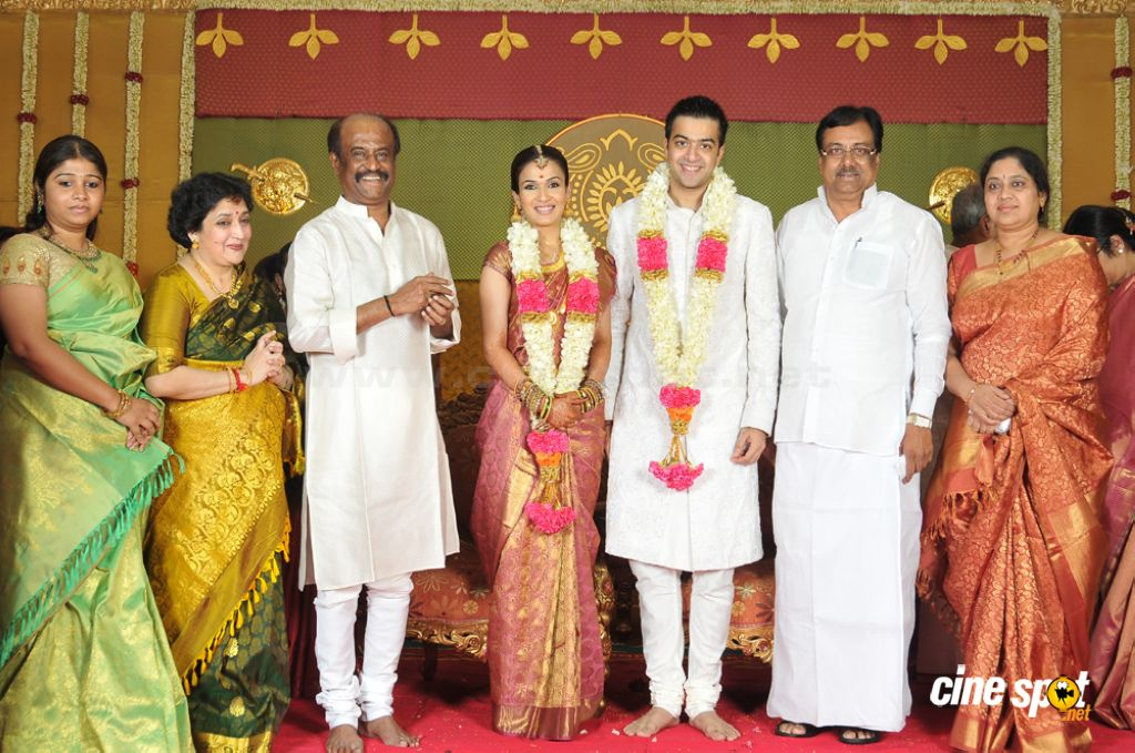 Soundarya Rajinikanth Wedding Photos Rajini Daughter Marriage 7
