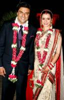Neelam Roy & Sameer Soni's wedding Marriage reception Photos Pics