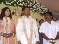 Sreeni Vasan_Meena Reception Photos