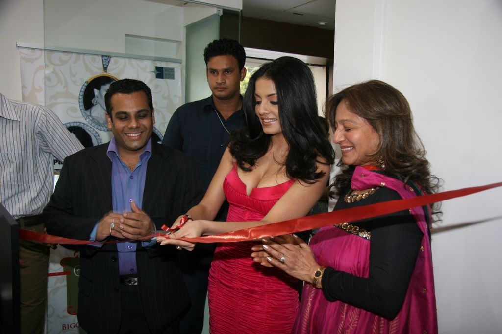 Celina Jaitley inaugurates World of Silver (1)
