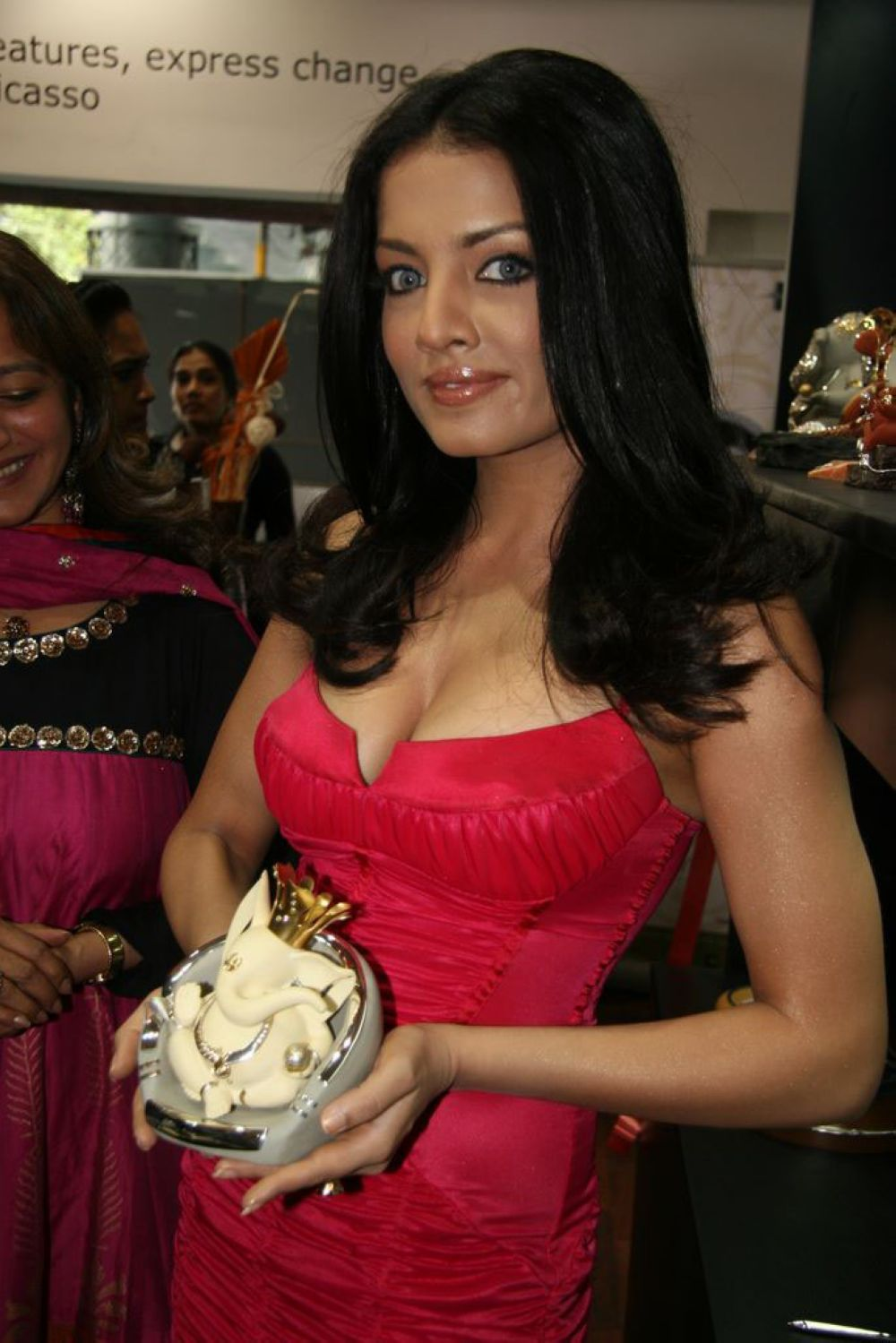 Celina Jaitley inaugurates World of Silver (11)