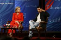 Aamir Khan meets Hillary Clinton HQ Photos