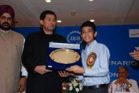 Slumdog kid Tanay Chheda gets Pride of India award Photos