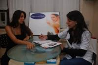 Malaika Arora at Skin Essentials clinic