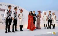 Aishwarya Rai Bachchan at Dubai World Cup 2012