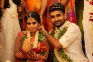 Ramesh Khanna Son Jashwanth Kannan Priyanka Marriage Photos