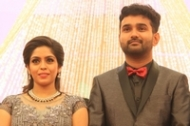 Ramesh Khanna Son Jashwanth Kannan Priyanka Marriage Reception Photos