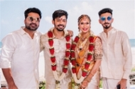 Kodi Ramakrishna Daughter Pravallika Wedding Photos