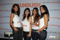 Aarti Chabbria with Anushka Manchanda at Sun Burn press Meet Event Photos