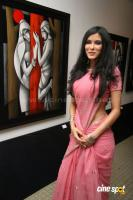 Nandana Sen inaugurates an Art Exhibition stills,photos