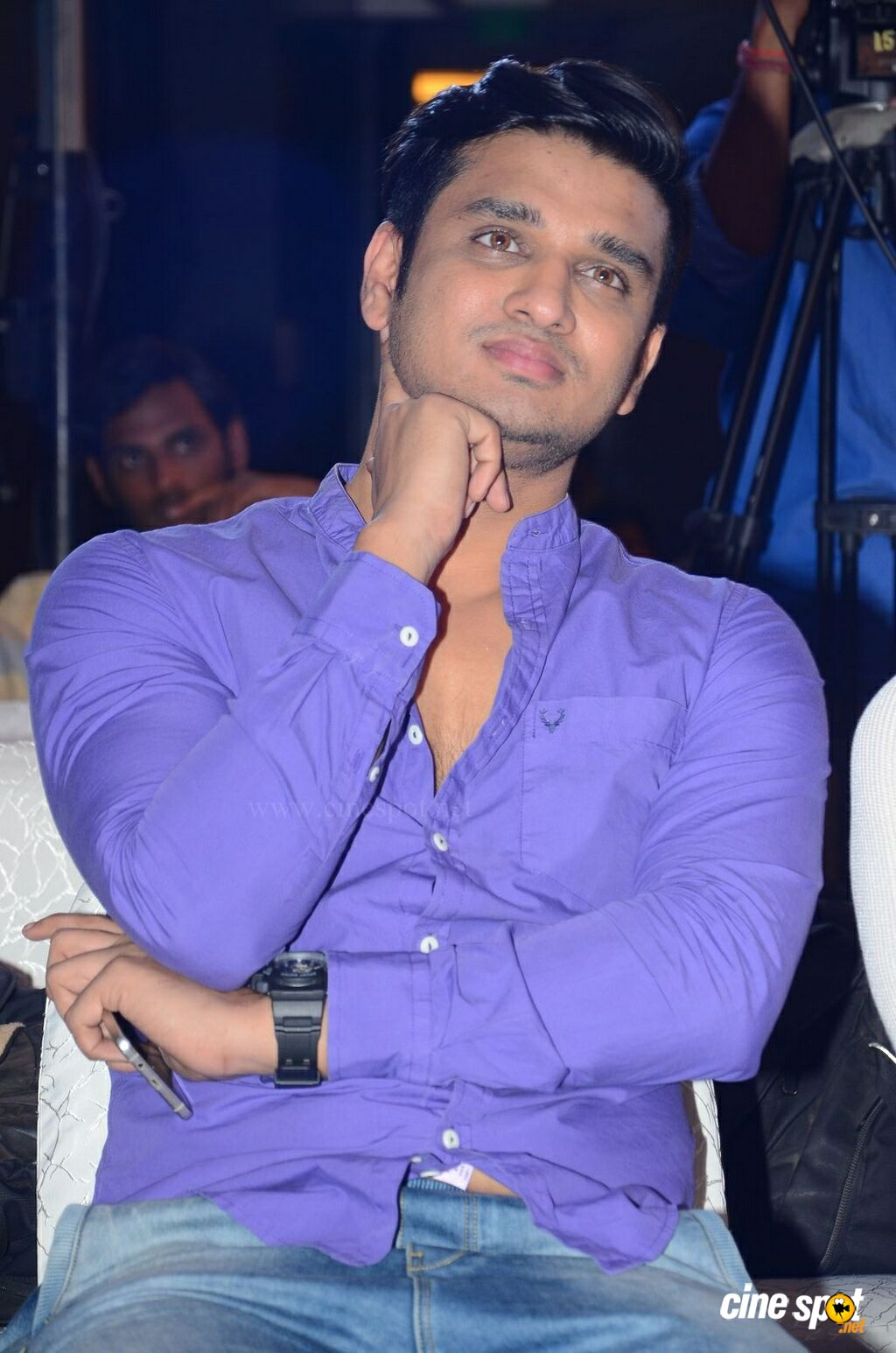 Nikhil Siddharth at Santosham Awards Curtain Raiser (12)