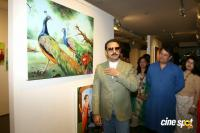 Gulshan Grover At Art Exhibition Nature Redefine Inauguration Photos