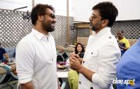 Ajay Devgn At The Launch Of Sheesha Sky Lounge Photos