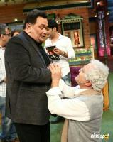 Rishi Kapoor & Neetu Singh On Set Of The Kapil Sharma Show (10)