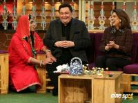 Rishi Kapoor & Neetu Singh On Set Of The Kapil Sharma Show (4)