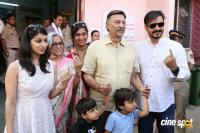 Bollywood Celebs At BMC Elections 2017 Photos