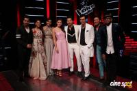 Badrinath Ki Dulhania Team On Set Of Voice Of India Photos