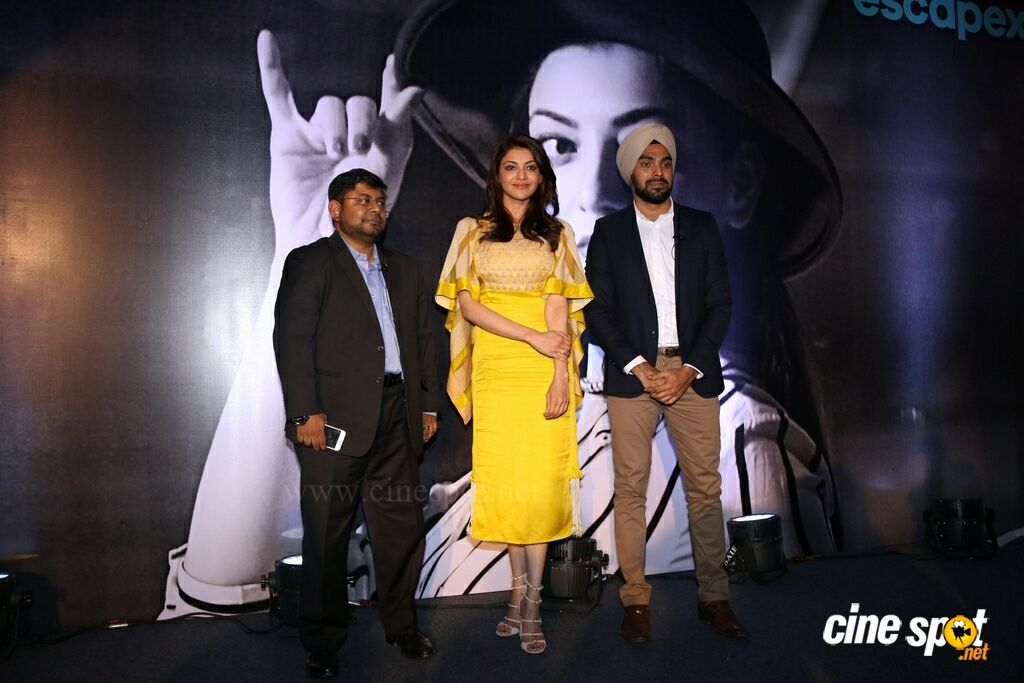 Launch Of Mobile App With Kajal Aggarwal (15)