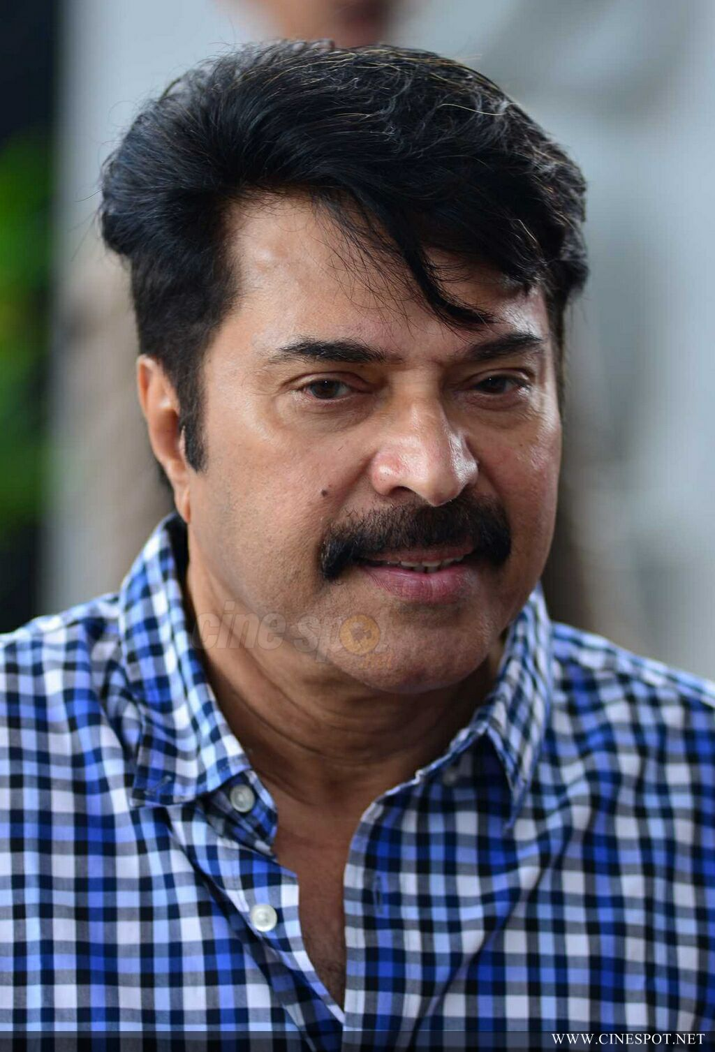 Mammootty at Abrahaminte Santhathikal Promo Meet (3)