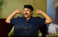 Mammootty at Abrahaminte Santhathikal Promo Meet (12)