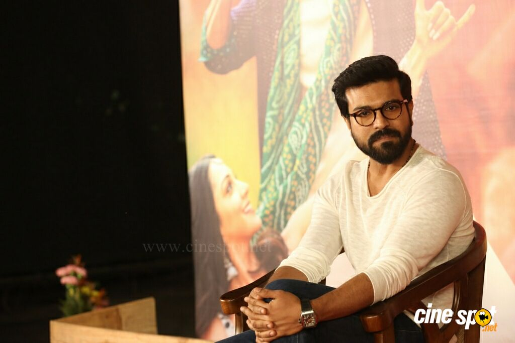 Vinaya Vidheya Rama Actor Ram Charan Interview Photos (7)