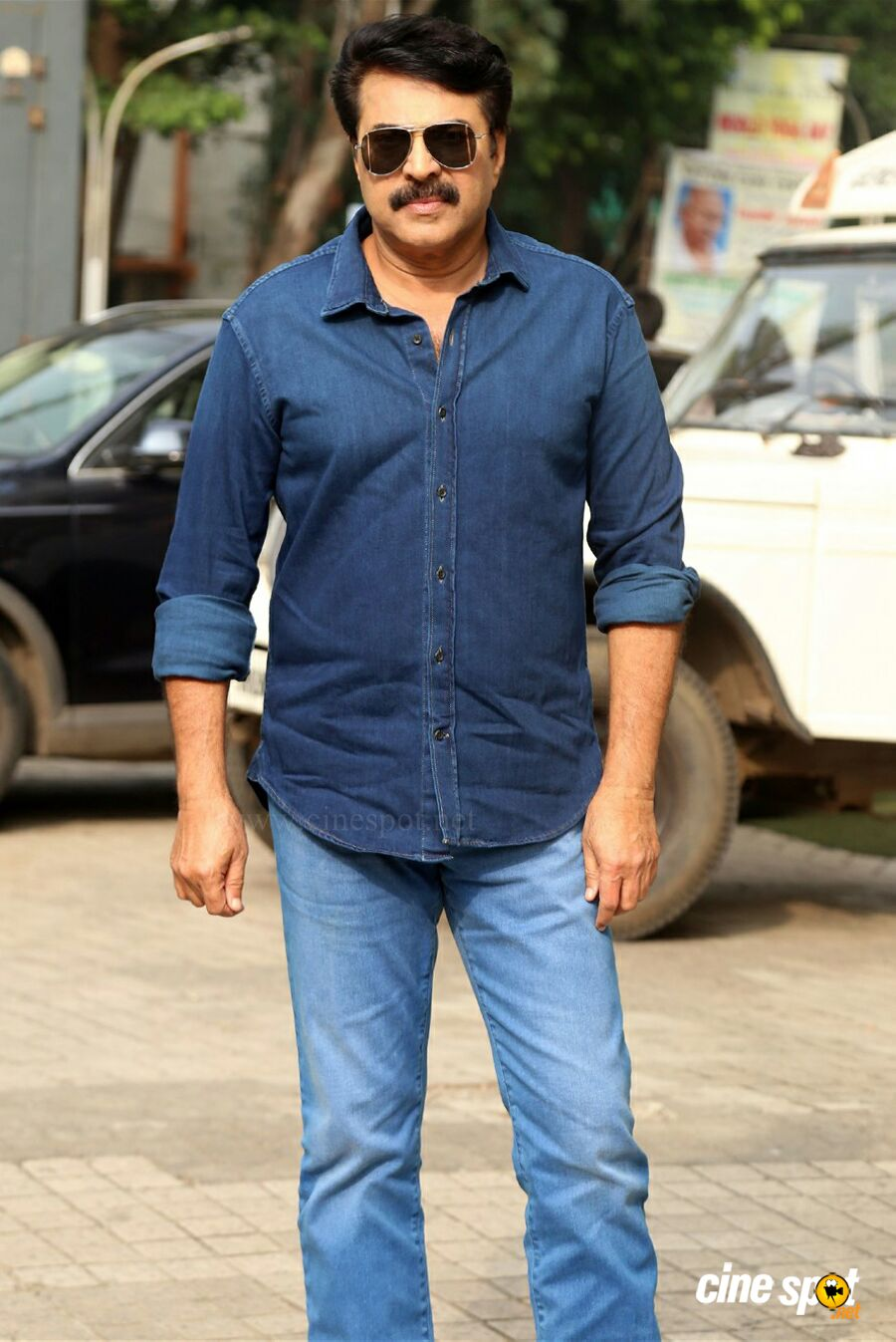 Mammootty at Mamangam Trailer Launch (1)