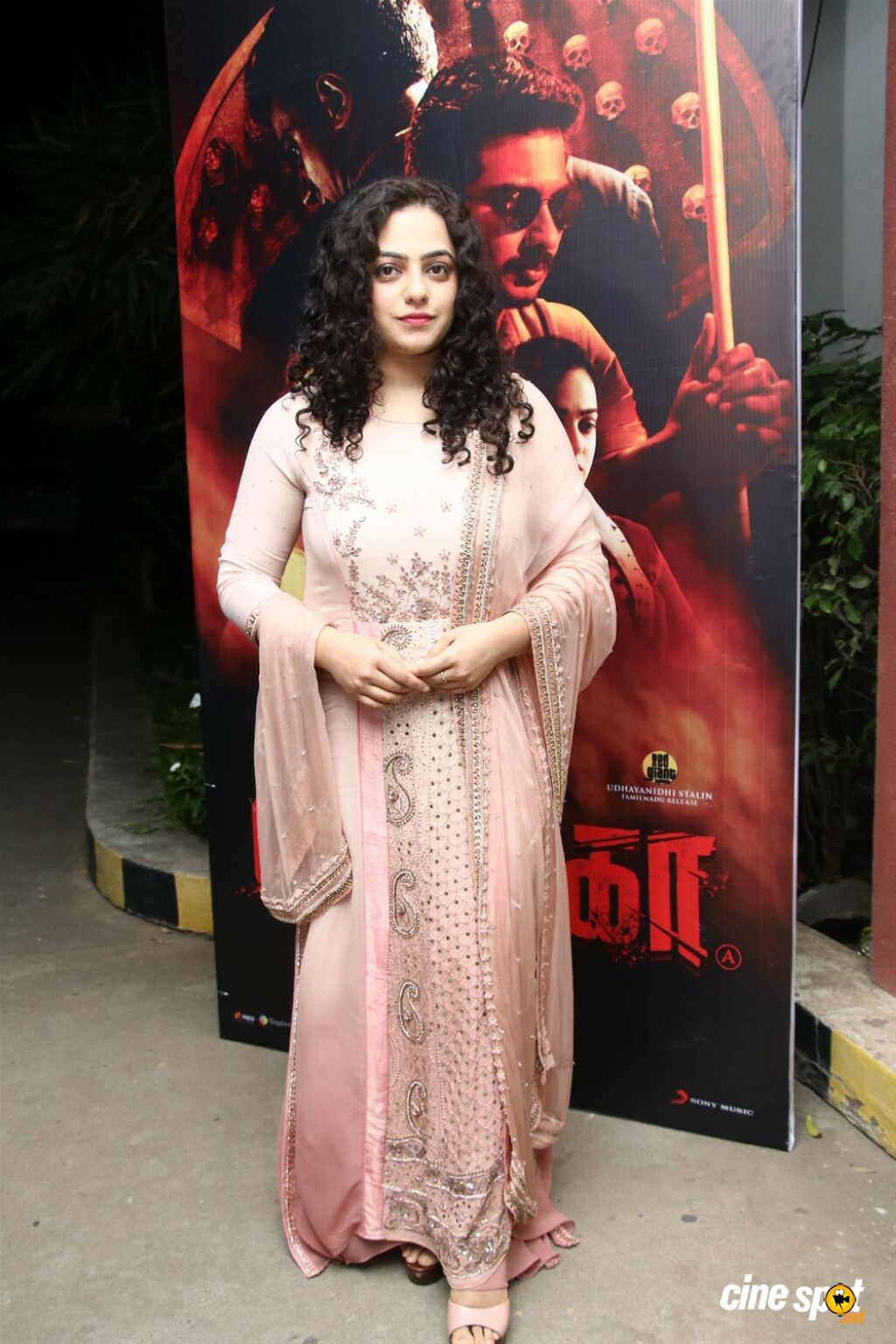 Nithya Menen at Psycho Movie Success Meet (2)